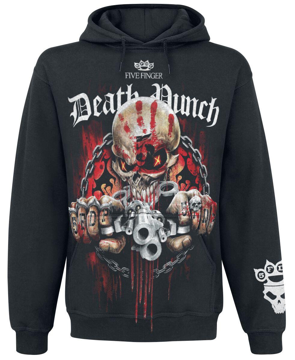 Image of   Five Finger Death Punch Assassin Hættetrøje sort