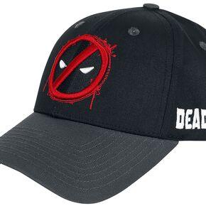 Deadpool Logo Casquette Baseball noir