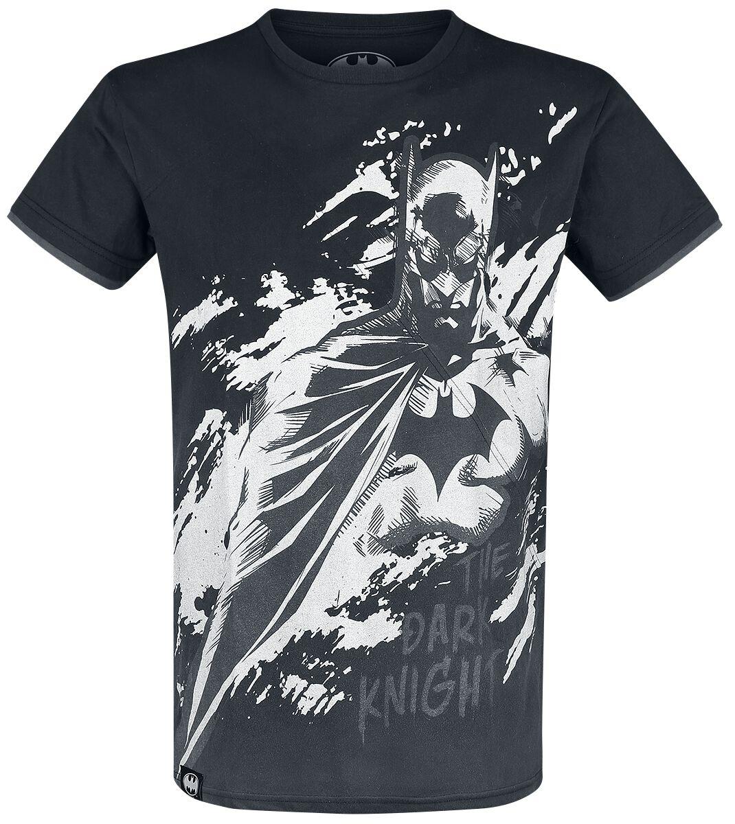 Image of   Batman The Dark Knight T-Shirt grå