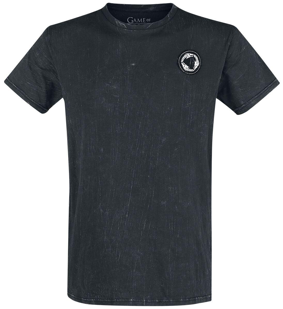 Image of   Game Of Thrones Valyrio T-Shirt mørk grå