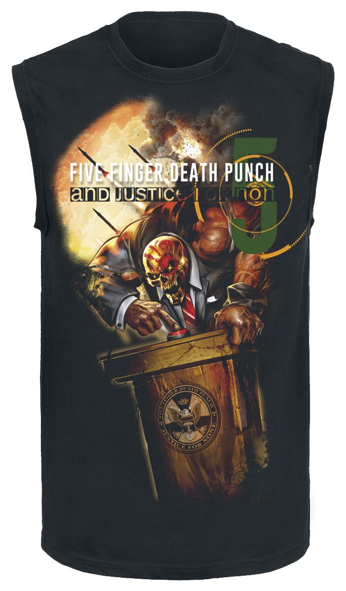 Image of   Five Finger Death Punch And justice for none Tanktop sort