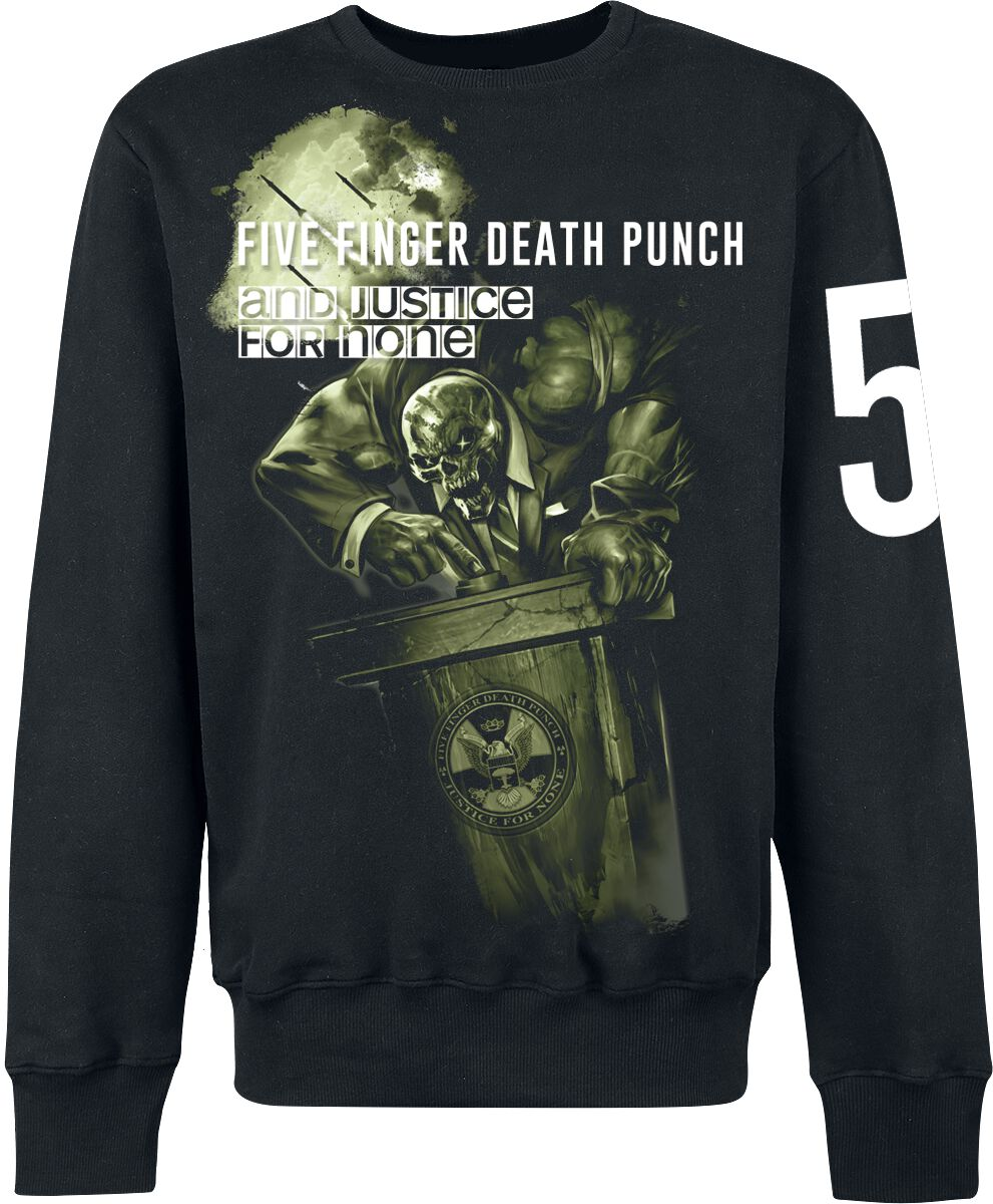 Image of   Five Finger Death Punch And justice for none Sweatshirt sort