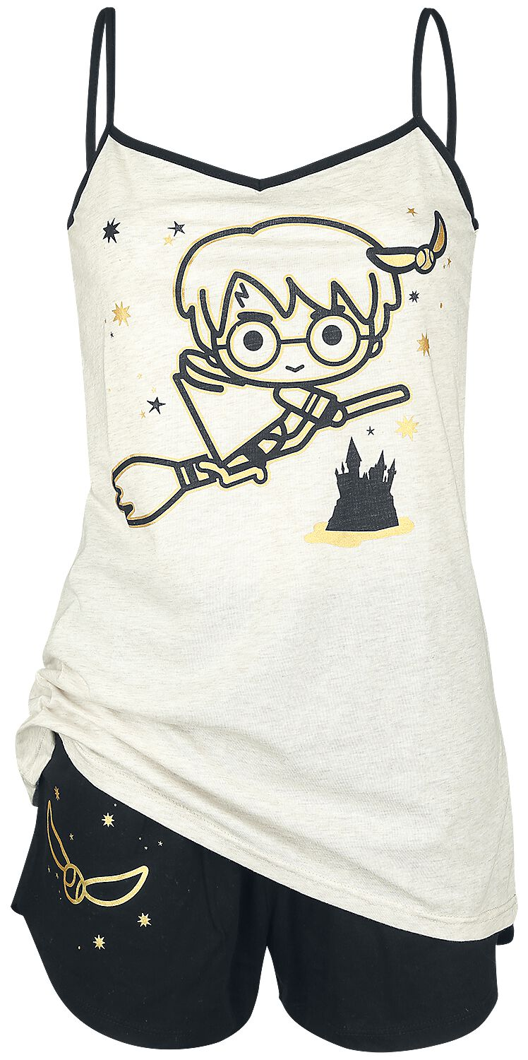 Image of   Harry Potter Chibi Quidditch Pyjamas cream-sort