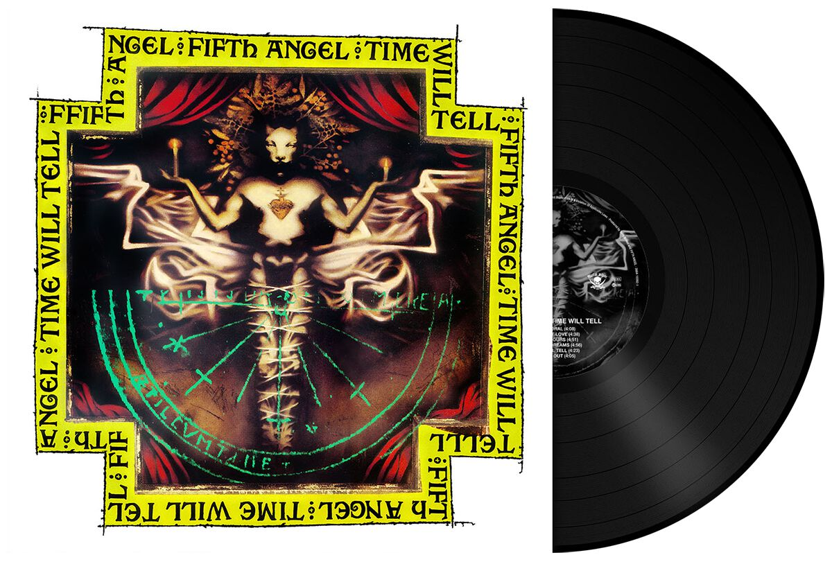 Fifth Angel Time will tell LP standard