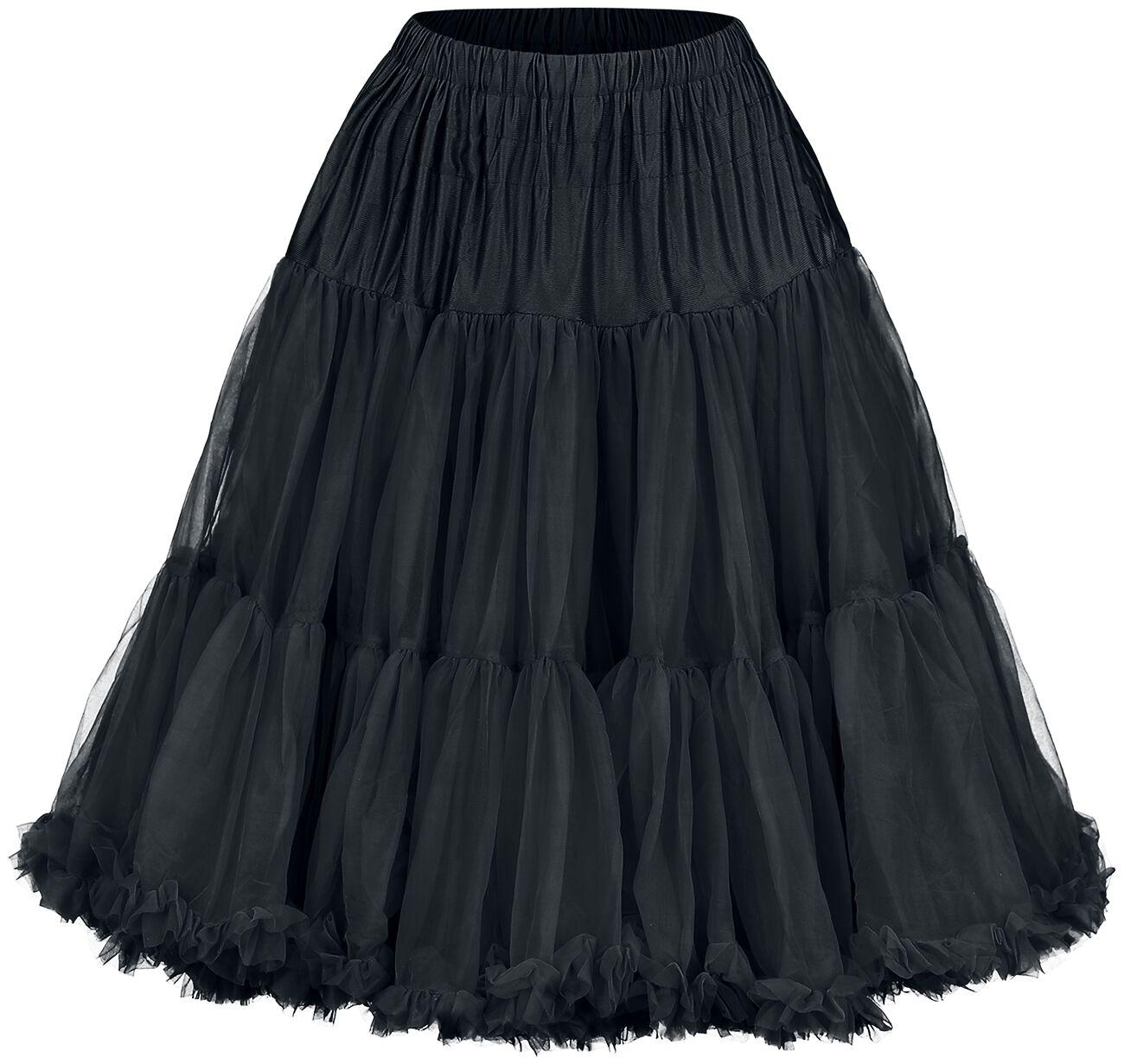 Banned Lifeforms Petticoat Spódnica czarny