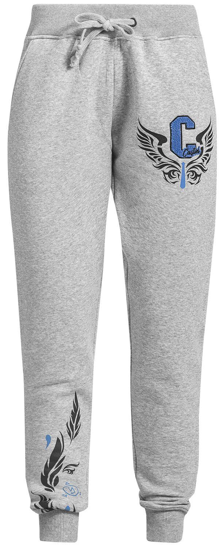 Supernatural Castiel Spodnie dresowe damskie odcienie jasnoszarego