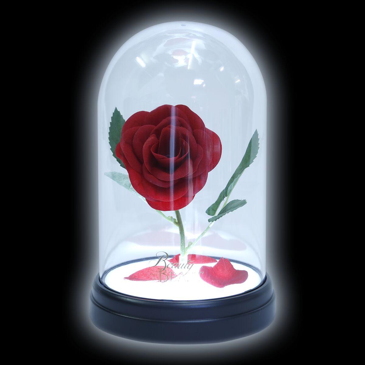 Image of   Skønheden & Udyret Enchanted Rose Lampe Standard