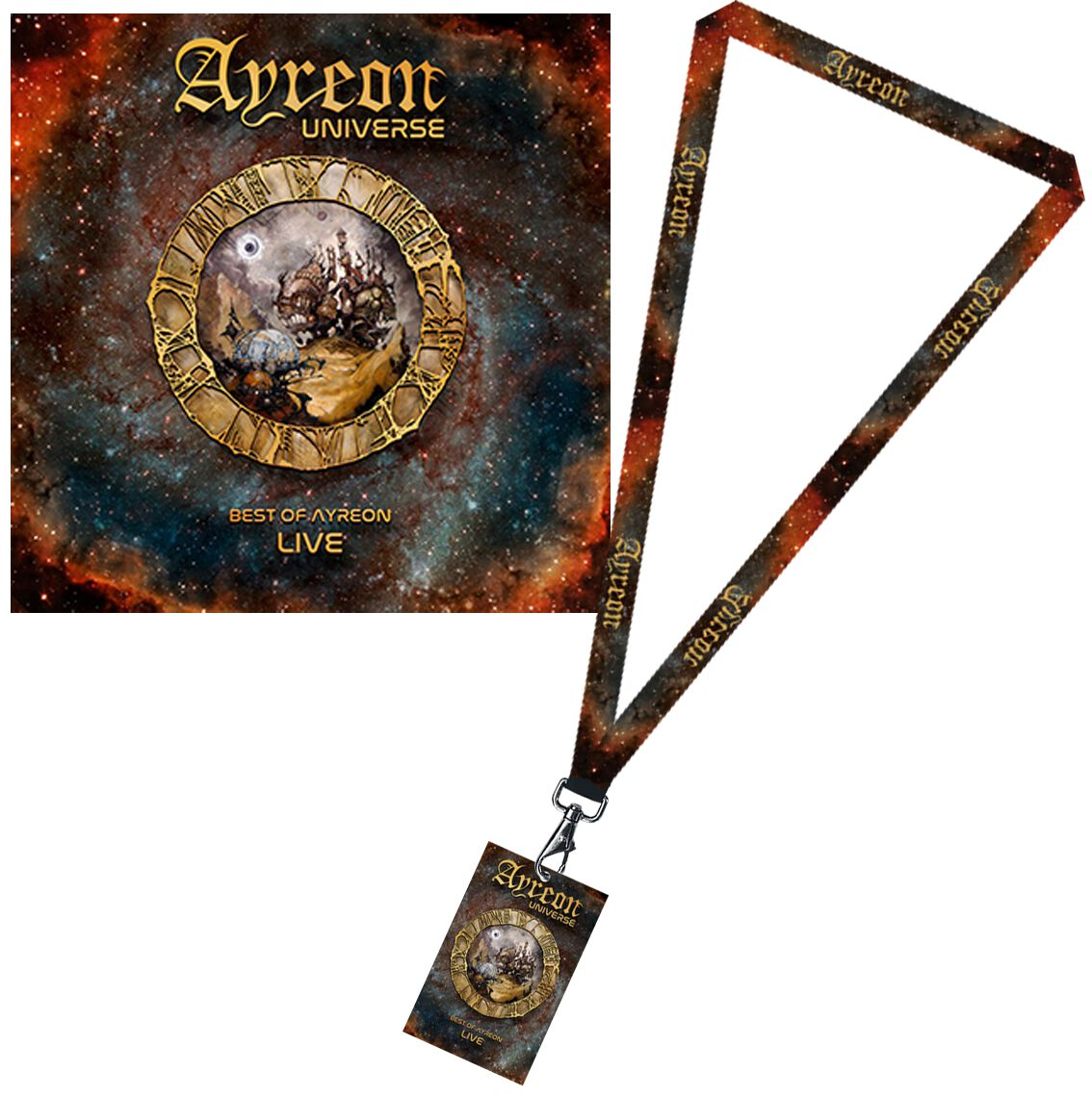 Image of   Ayreon Ayreon universe - Best of Ayreon live 2-CD & Nøglestrop standard
