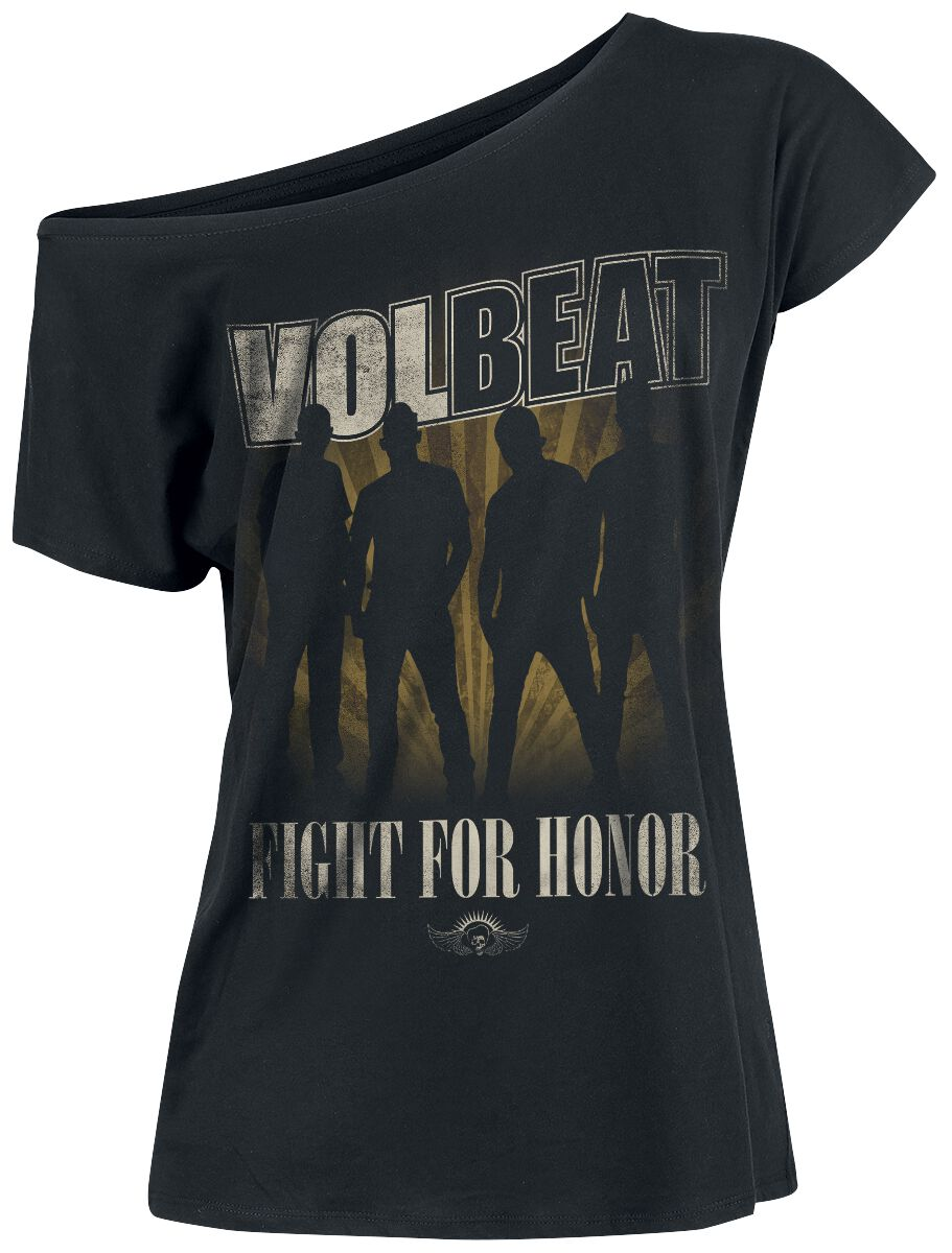 Image of   Volbeat Fight For Honor Girlie trøje sort