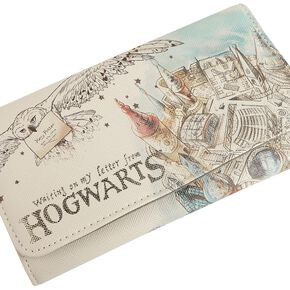 Harry Potter Poudlard Portefeuille multicolore