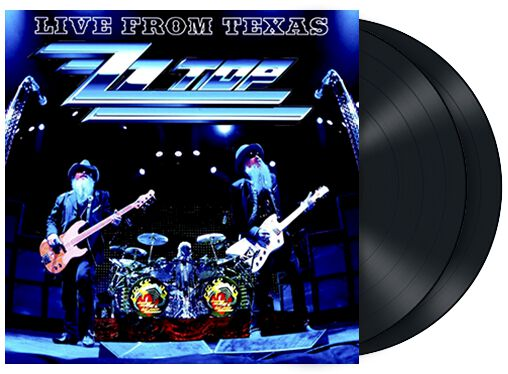 ZZ Top Live from Texas 2-LP Standard