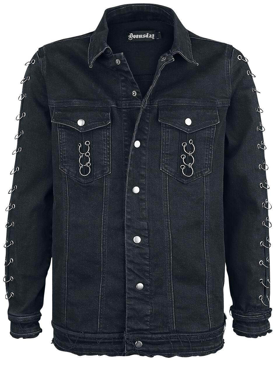 Image of   Doomsday Ringer Jacket Jeans jakke sort