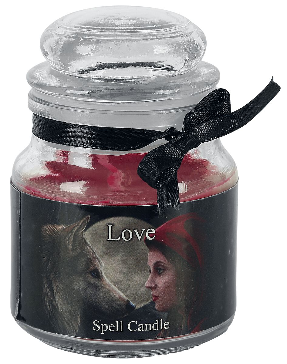 Image of   Nemesis Now Love Spell Candle - Rose Stearinlys Standard