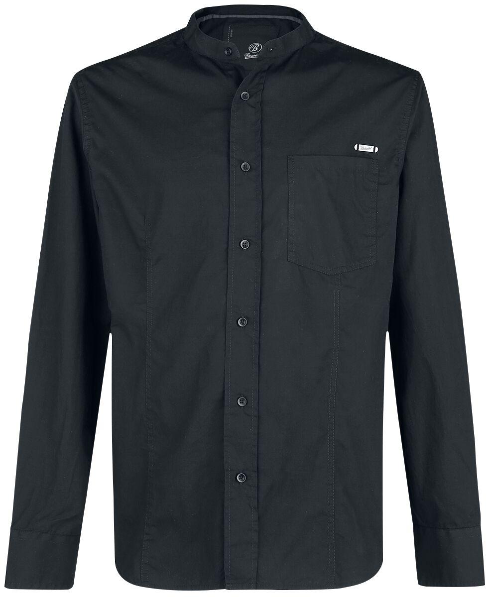 Image of   Brandit Gibson Stand Up Collar Skjorte sort