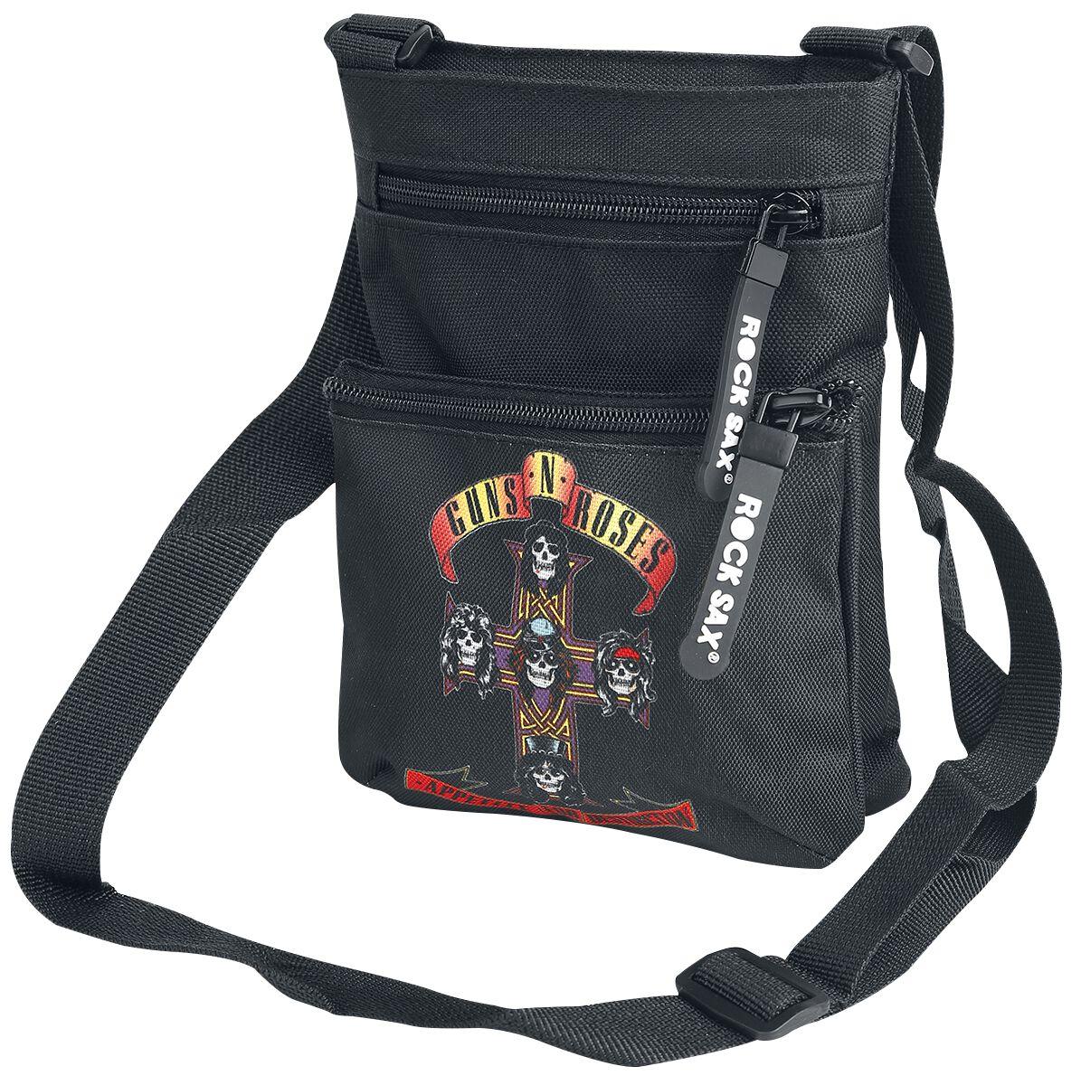 Image of   Guns N' Roses Appetite For Destruction Skuldertaske sort