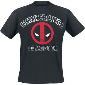Deadpool Chimichanga T-shirt noir