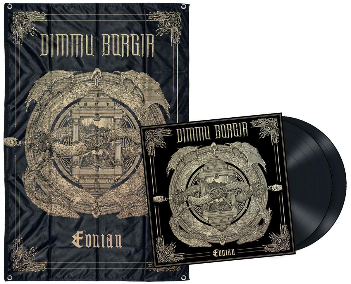 Image of   Dimmu Borgir Eonian 2-CD & 2-LP & Flag standard