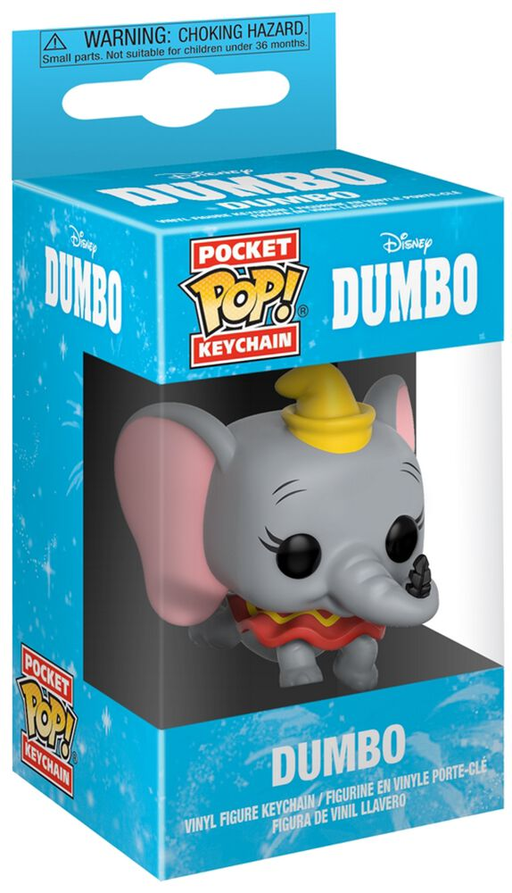 Image of   Dumbo Dumbo Pocket POP! Nøglering Nøglering Standard
