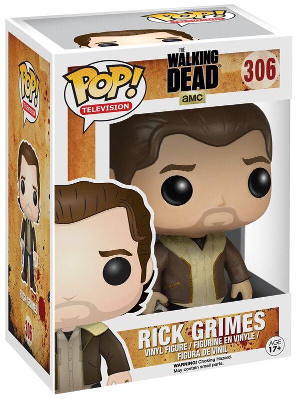 Image of   The Walking Dead Rick Grimes Vinyl Figure 306 Samlefigur Standard