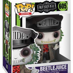 Figurine Pop! Beetlejuice avec Chapeau