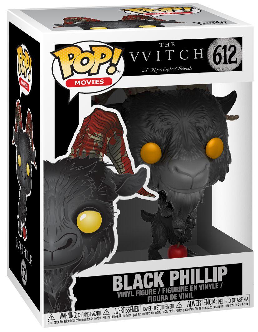 Image of   The Witch Black Phillip Vinyl Figure 612 Samlefigur Standard
