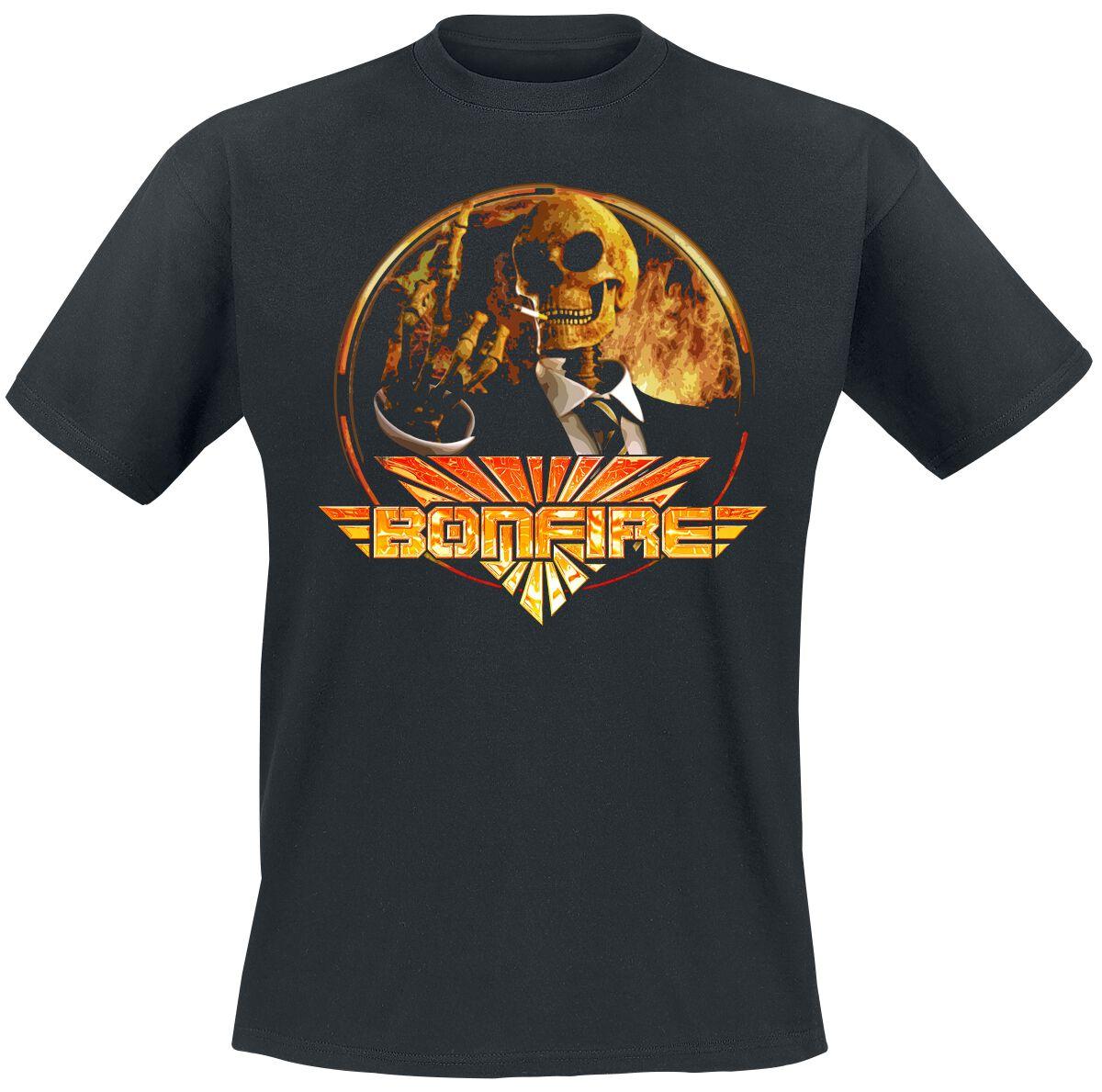 Bonfire Temple of lies T-Shirt schwarz
