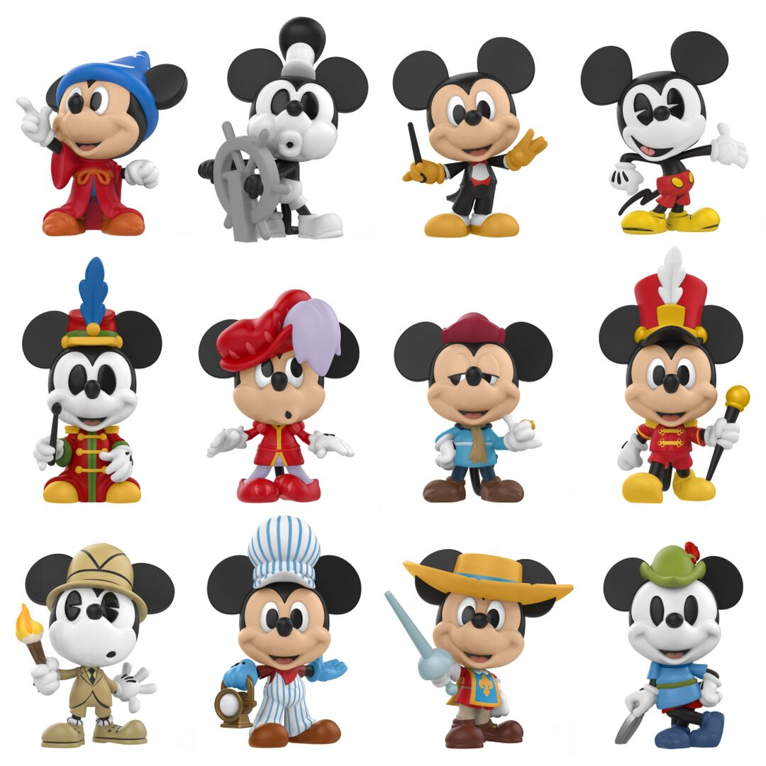 Image of   Mickey & Minnie Mouse Mickey's 90th Anniversary - Mystery Mini Samlefigur Standard