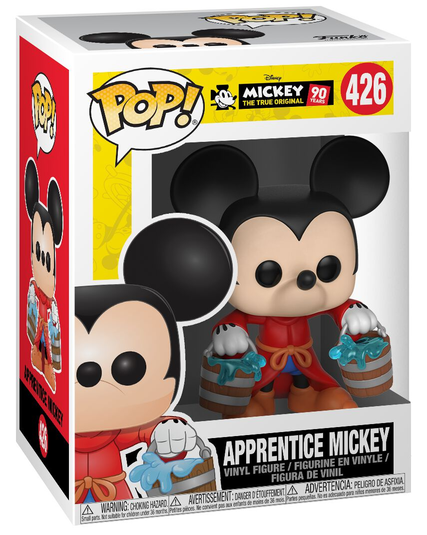 Image of   Mickey & Minnie Mouse Mickey's 90th Anniversary - Apprentice Mickey Vinyl Figure 426 Samlefigur Standard