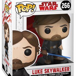 Figurine Pop! Luke Skywalker avec Sabre Laser - Star Wars, épisode VIII : Les Derniers Jedi