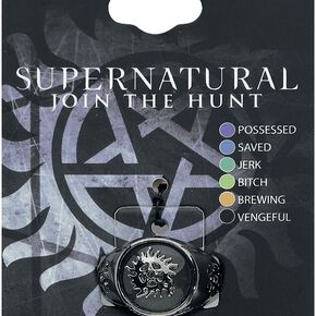 Supernatural Mood Ring Bague couleur argent