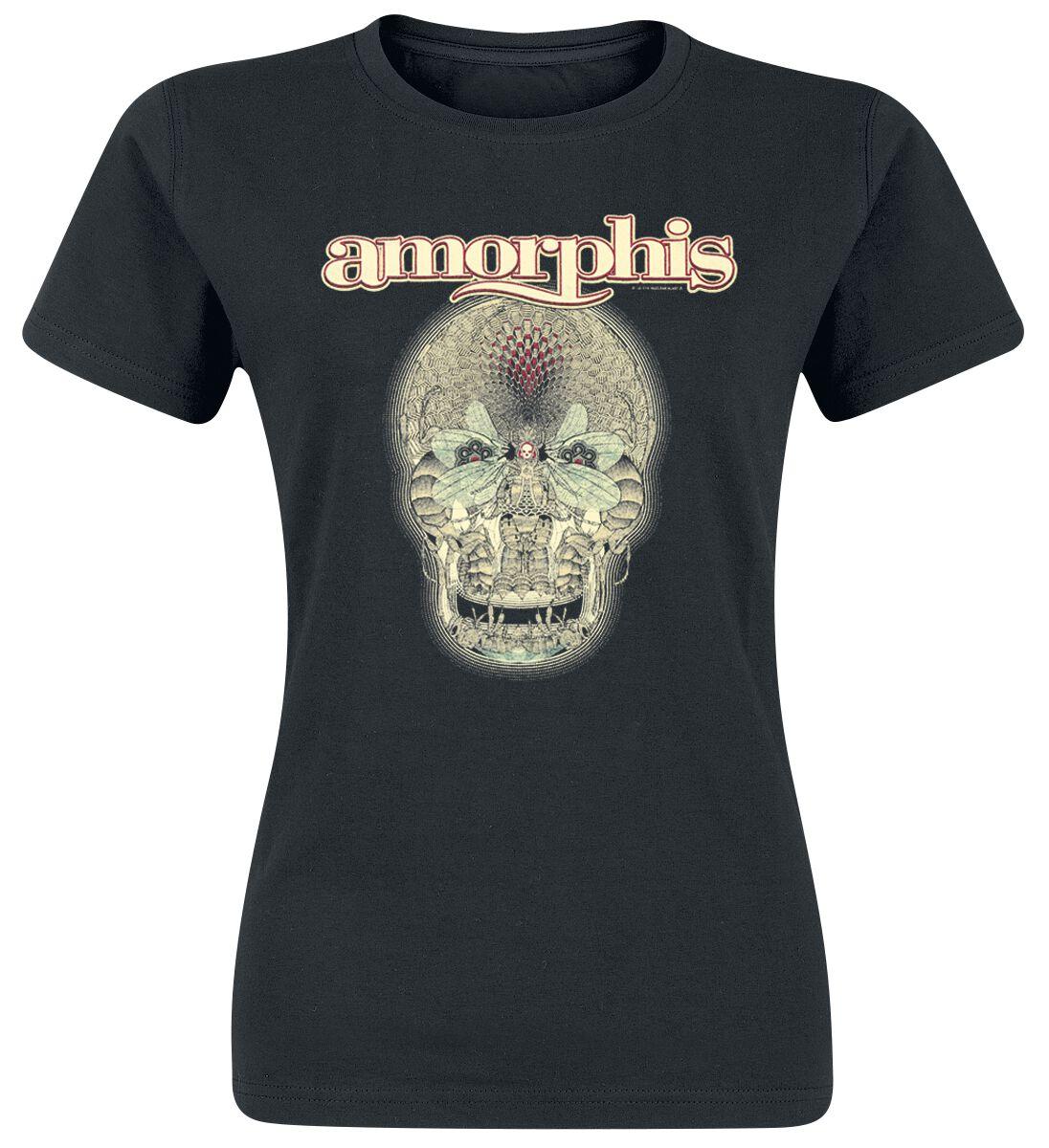 Amorphis Queen of time Koszulka damska czarny