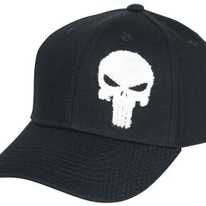 Marvel Punisher Men's Cap - Black