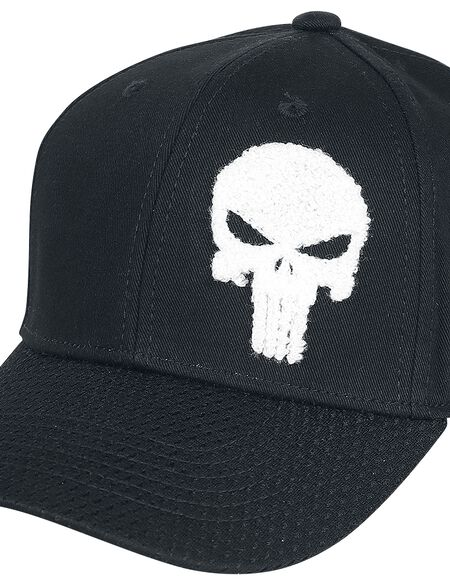 Marvel Punisher Men's Cap - Black