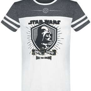 Star Wars Dark Vador - Rule The Galaxy T-shirt blanc/gris chiné