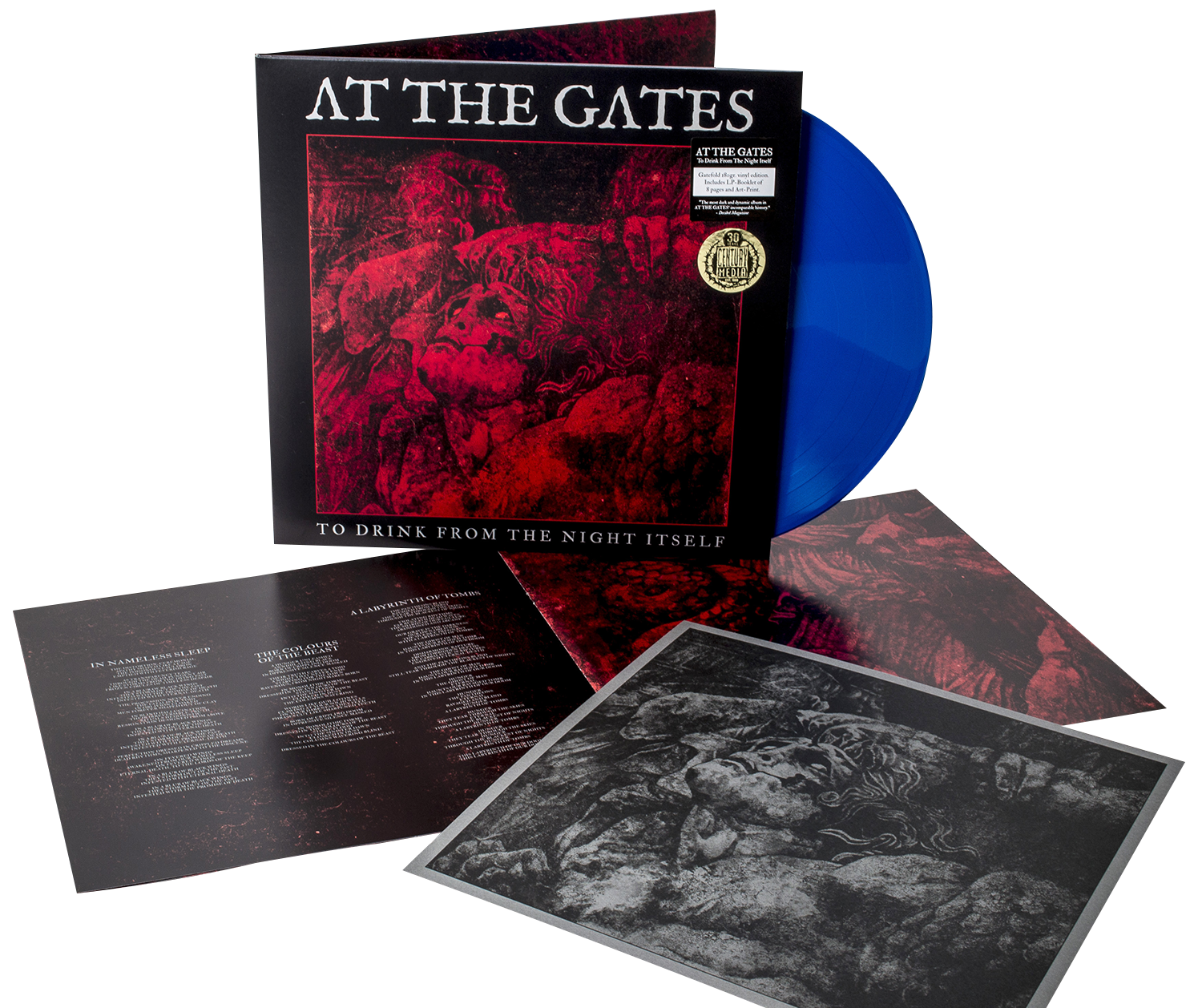 At The Gates - To drink from the night itself - LP - blue