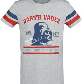 Star Wars Dark Vador T-shirt gris clair chiné