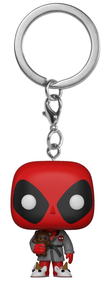 Image of   Deadpool Bedtime Deadpool Pocket POP! Keychain Nøglering Standard