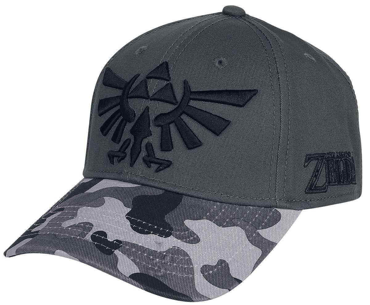 Image of   The Legend Of Zelda Wingcrest Logo Baseball Cap grå