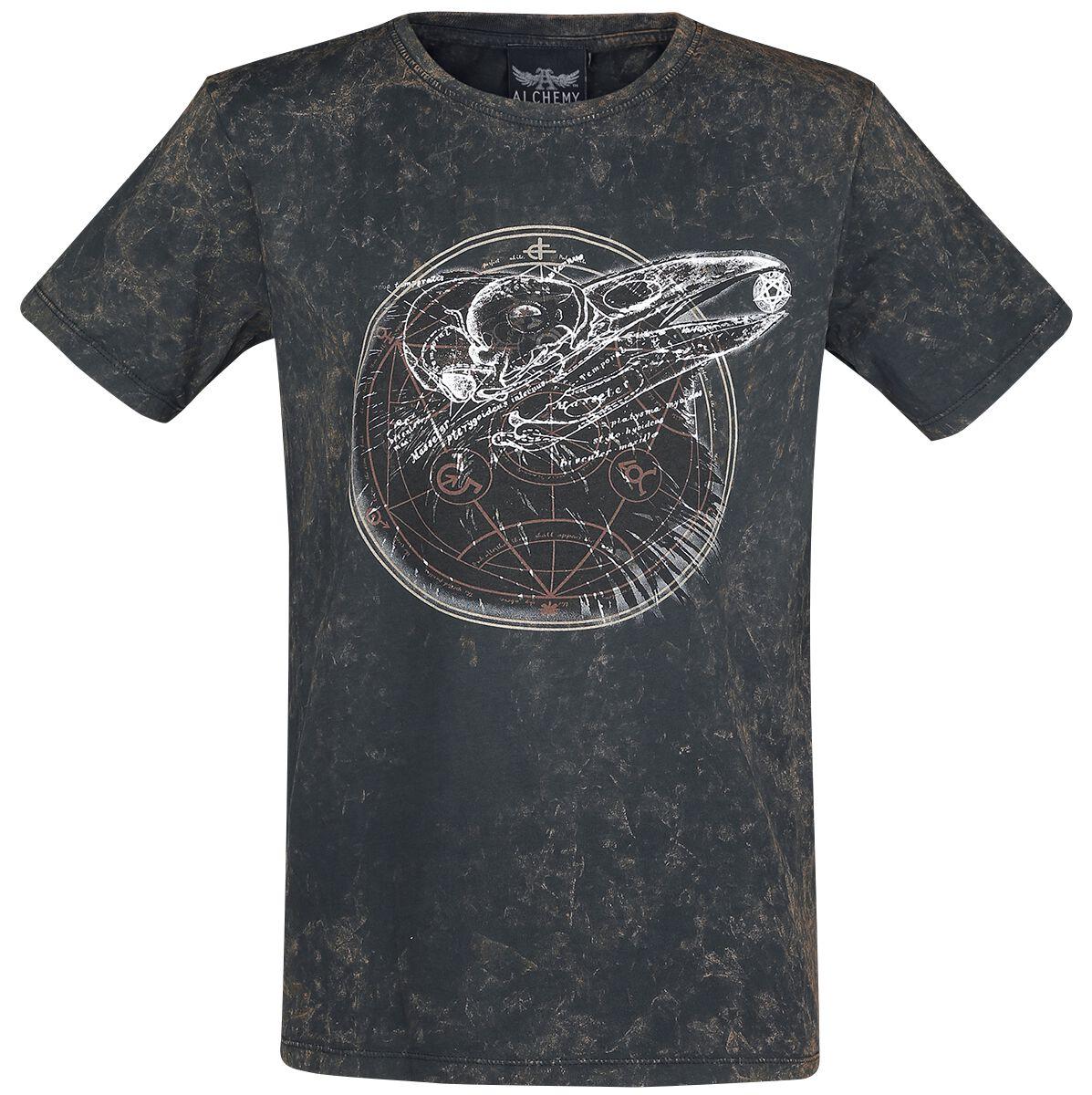 Image of   Alchemy England An Eye for an Eye T-Shirt mørk brun