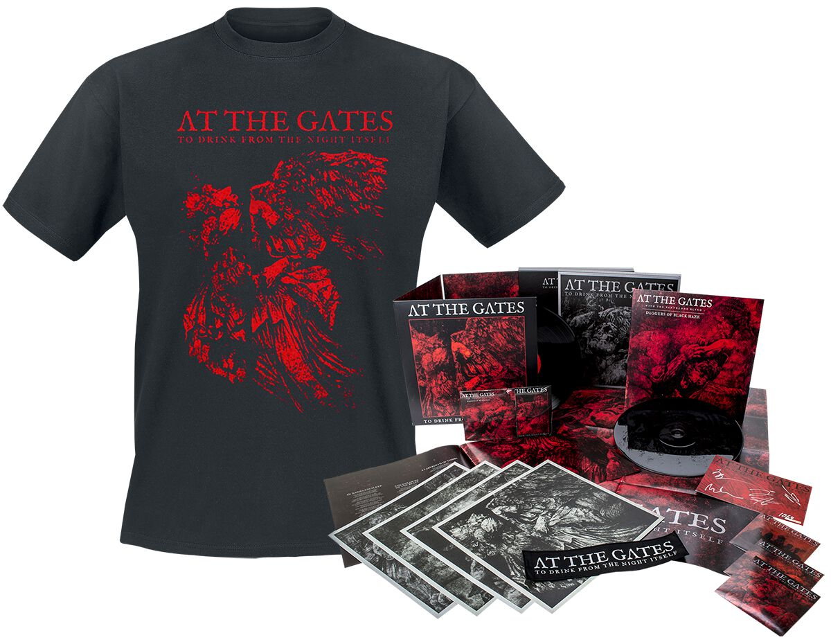Image of   At The Gates To drink from the night itself 2-CD & 2-LP & T-shirt standard