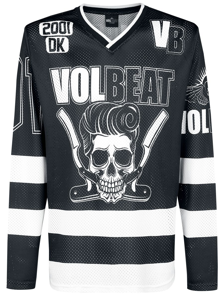 Image of   Volbeat Razorblade T-Shirt sort