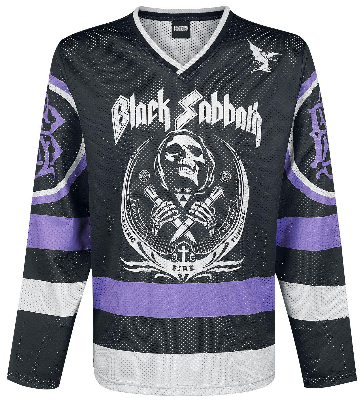Image of   Black Sabbath The end Langærmet sort