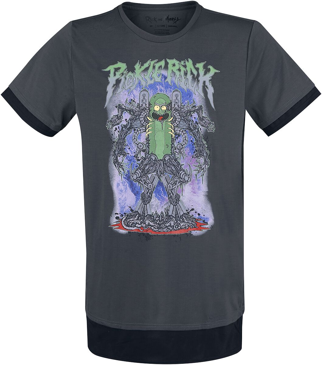 Image of   Rick And Morty Brutal Rick T-Shirt sort