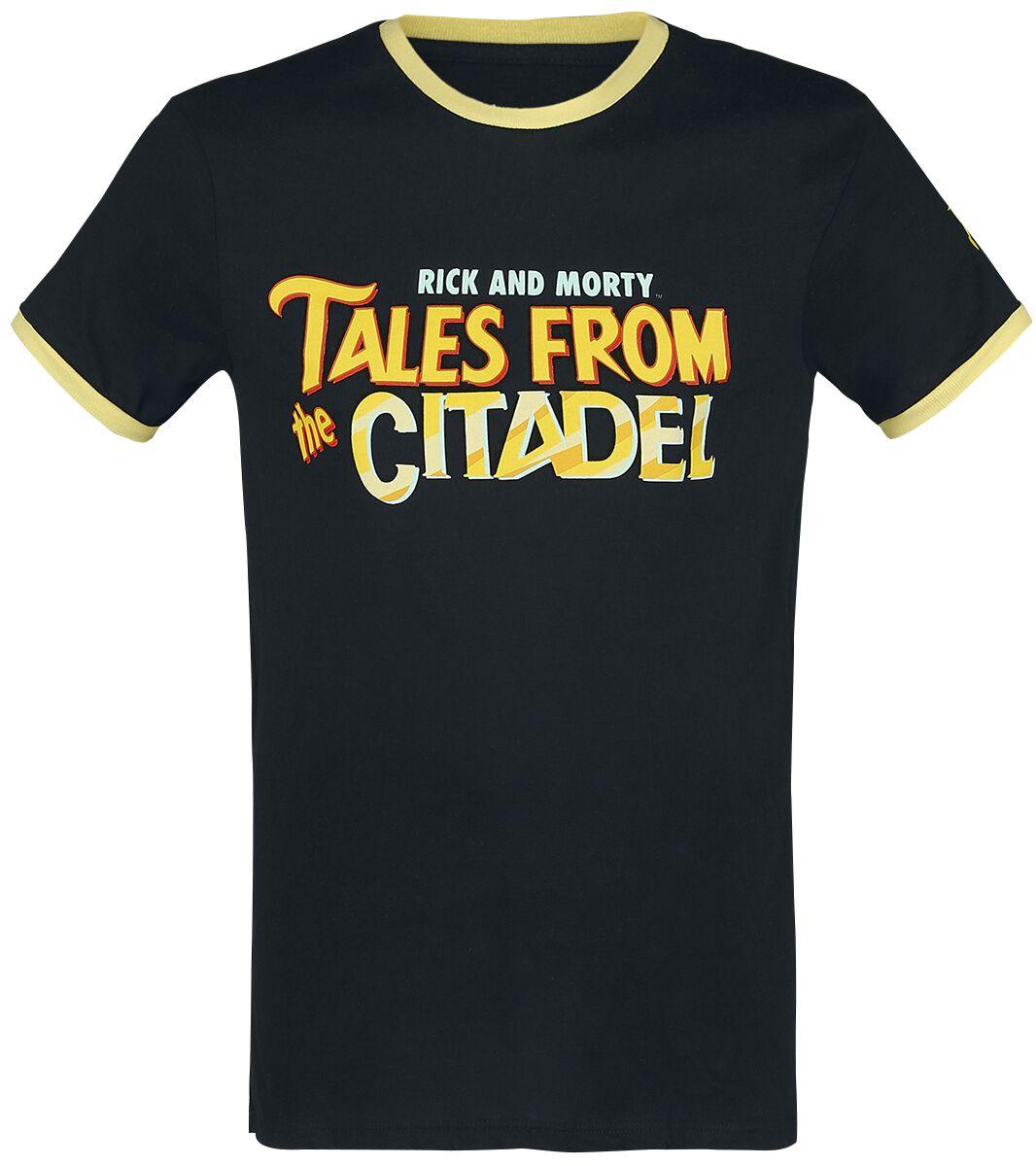Image of   Rick And Morty Tales From The Citadel Girlie trøje sort