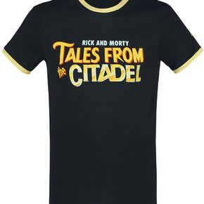 Rick & Morty Tales From The Citadel T-shirt Femme noir