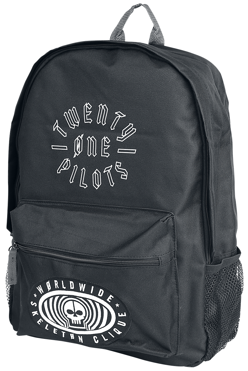 Twenty One Pilots - Worldwide Badge - Backpack - black