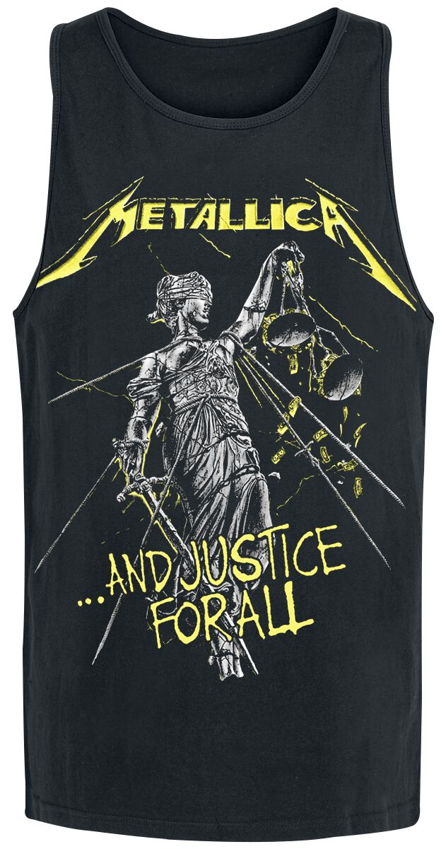 Image of   Metallica ...And Justice For All Tracks Tanktop sort