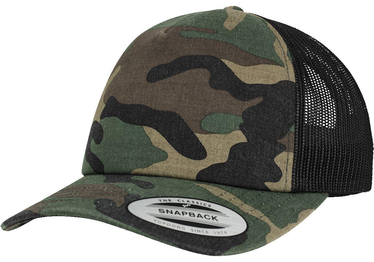 Yupoong Camo Trucker Cap Truckercap camouflage