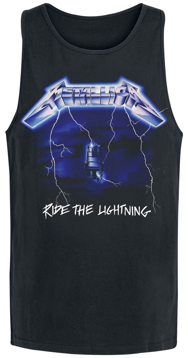 Metallica Ride The Lightning Tank-Top schwarz