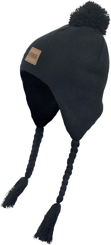 Image of   Urban Classics Knit Beanie with Pom Pom Beanie sort